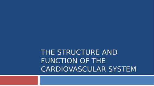 The Cardio-respiratory System GCSE PE