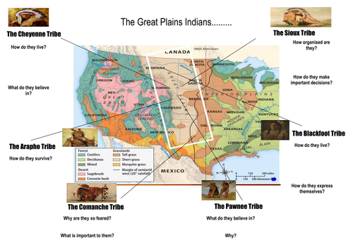 Meet the Great Plains Indians activity American West