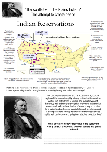 President Grants peace policy and the 2nd Fort Laramie Treaty Analysis