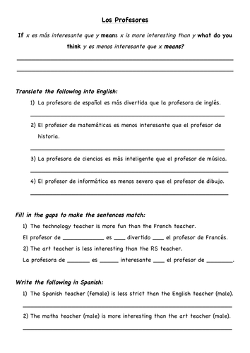 Printables of Worksheet Traducir Espa%C3%B1ol - Geotwitter Kids ...