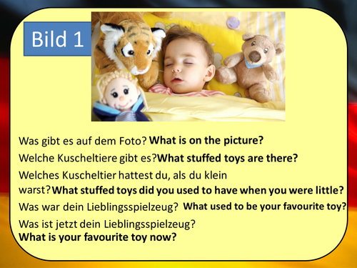 Stimmt 3 Chapter 4 (Kindheit) GCSE Style role play, picture description and translation