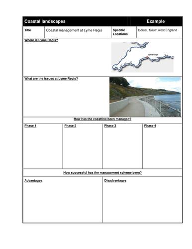 Coastal management - Lyme Regis