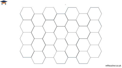 Blockbusters template for pairwork