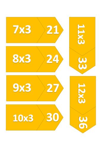 Maths Match up Cards