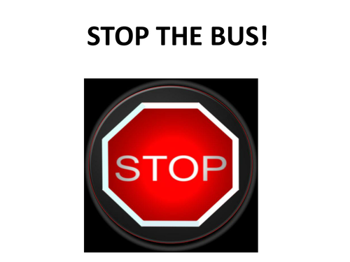 Stop The Bus!   Fun vocab building game 