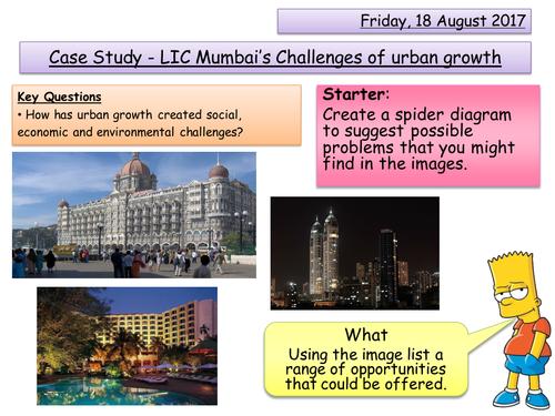 A Major City - Mumbai's Challenges