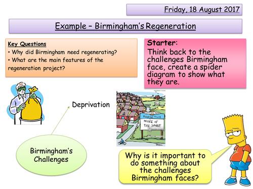 Urban Regeneration - Birmingham