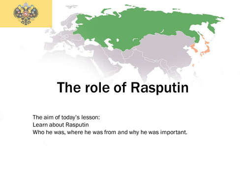 The role of Rasputin in bringing down the Russian Government