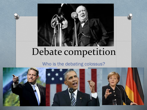 Half-day debate competition