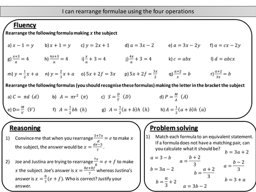 Maths Worksheets Ks2 Year 4 Word Equations Codebreaker Sheet Collection By Prof  Teaching  Friendly Letter Worksheet Excel with Math Probability Worksheets Pdf Rearranging Formulae  Changing The Subject No Powers Involved  Mastery  Worksheet Adjective Worksheets Middle School Pdf