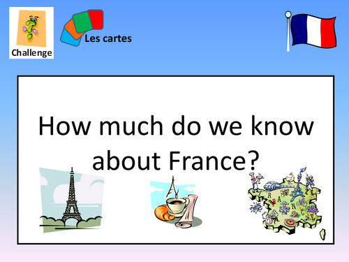 Back to School French First Lesson