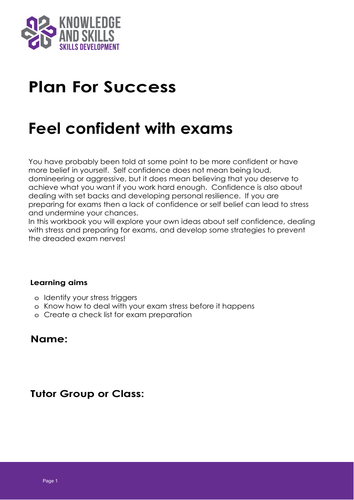Plan for Success: Feel Confident With Exams