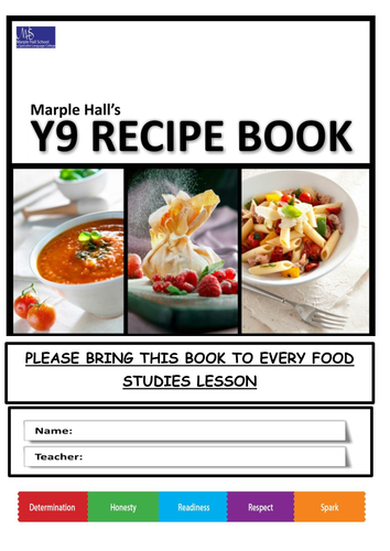 Gcse food technology recipe selection including costings and recipe book aimed at year 9 forumfinder Image collections