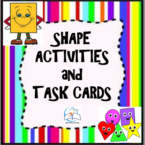 1st Grade Geometric Shapes {includes an assessment}
