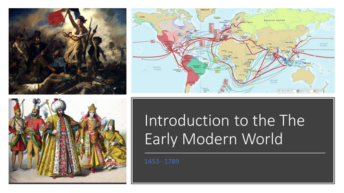 Introduction to the Early Modern World