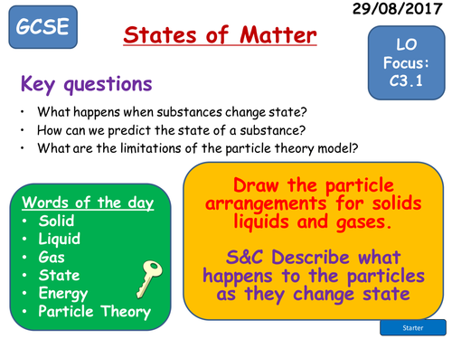 AQA Trilogy Science Structure and Bonding