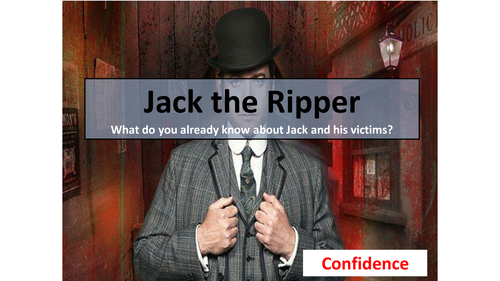 Jack the Ripper Suspect Lesson