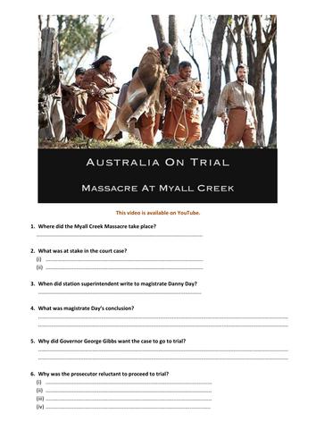 Massacre at Myall Creek - Australia on Trial