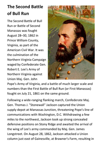 when was the second battle of bull run fought