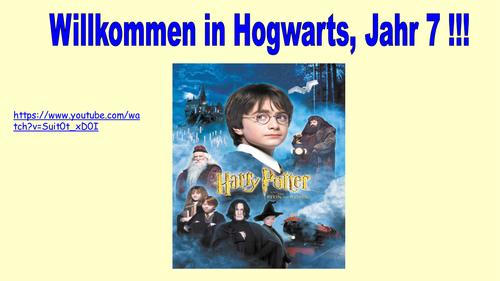 Hallo! - module 1- echo 1 textbook (Harry Potter themed)