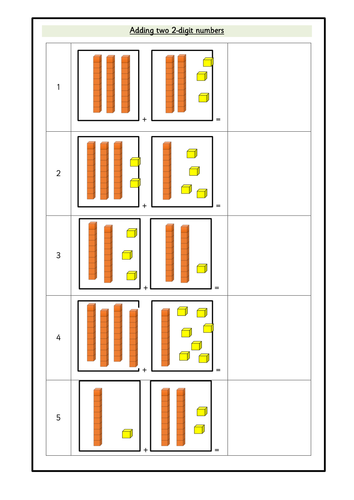 Adding Two 2 Digit Numbers With Base 10 Images Wrmh By