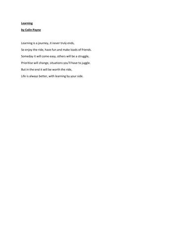 Journy Poems 6