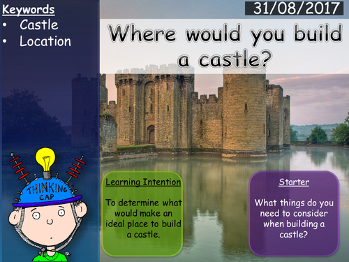 Where to build your castle? Mini project - Lesson (1/3)