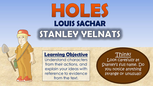 Holes - Stanley Yelnats!