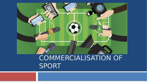 Commercialisation of Sport GCSE PE
