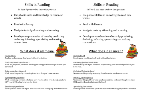 Reading Skills  - Inference