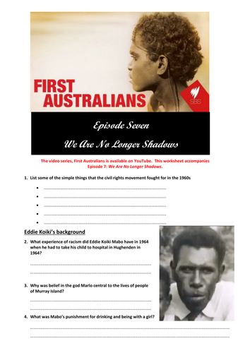 First Australians Episode 7: We Are No Longer Shadows