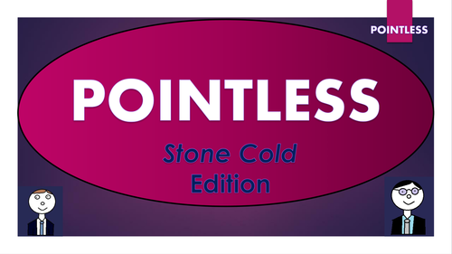 Stone Cold Pointless Game (and template to create your own games!)