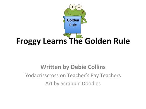 Golden rule/ Teach empathy and Kindness