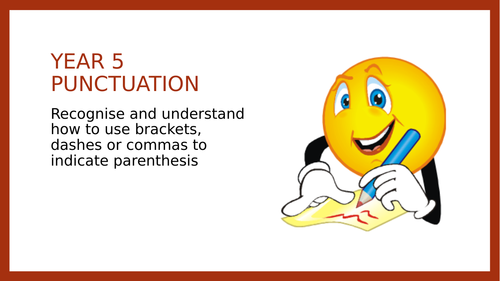 Year 5 SPAG PPT: Parenthesis