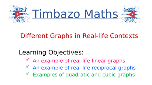 Different  Graphs in Real-life Contexts