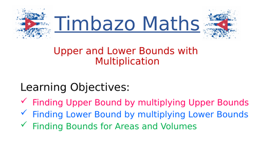 Upper & Lower Bounds with Multiplication