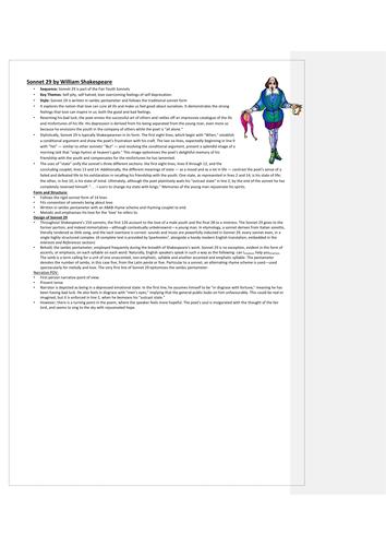 CCEA: Identity Poems Teacher Resource Pack