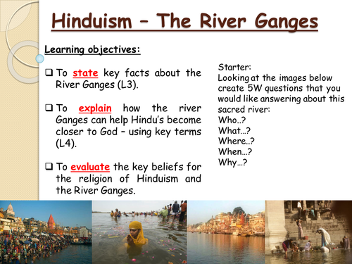 Hinduism - The River Ganges