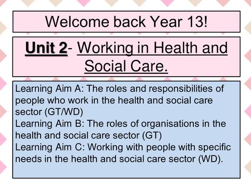 l3 health and social