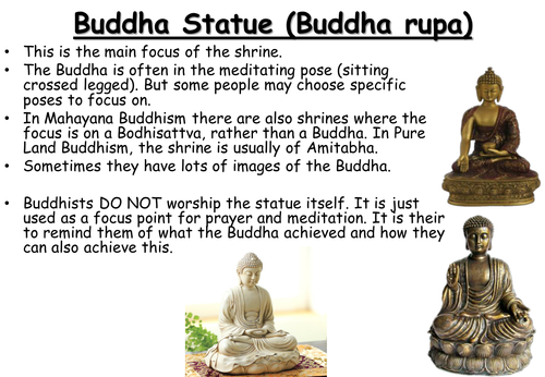 1+2. Places of Worship - Buddhist Practices - GCSE AQA 2016 Spec