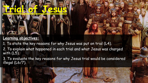 Christianity - The Trial of Jesus