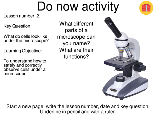 Microscopy required practical - NEW AQA GCSE