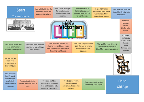 The Victorian Game of Life