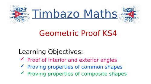 KS4 Geometric Proof