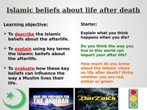 Islamic views on life after death