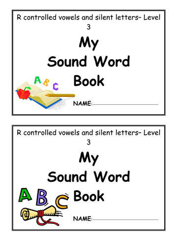 Sound word booklet - Level 3