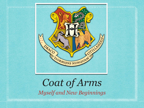 Introductory Activity for Junior Pupils (Coat of Arms and Interview)