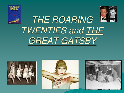 greed in the roaring twenties in the great gatsby