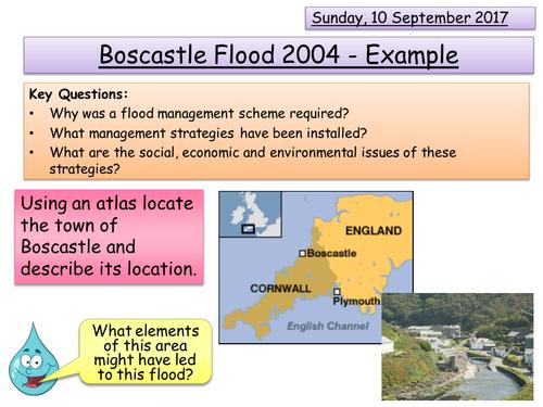Boscastle Floods - Flood Management scheme