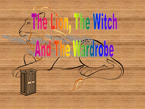 Very simplified animated PPT version of the Lion, the Witch and the Wardrobe for Y3/4